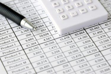 収支を記録する事、収支表の重要性
